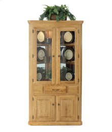 Corner Hutch w/ 2 Full Doors