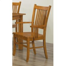 Marbrisa Mission Dining Arm Chair