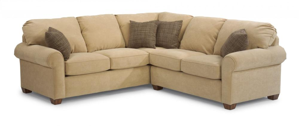 3535SECT in by Flexsteel in Boise, ID - Thornton Leather Sectional