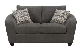 Loveseat Ink W/2 Accent Pillows