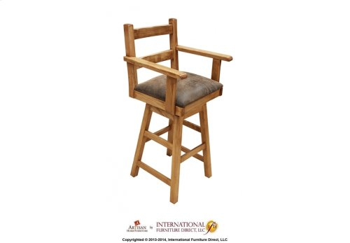 "30"" Arm Swivel Barstool"