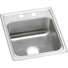 """Elkay Celebrity Stainless Steel 17"""" x 20"""" x 7-1/8"""", Single Bowl Drop-in Sink"""