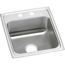 "Elkay Celebrity Stainless Steel 17"" x 20"" x 7-1/8"", Single Bowl Drop-in Sink"