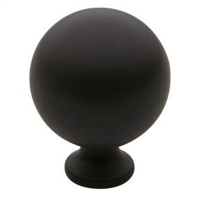 Oil-Rubbed Bronze Spherical Knob