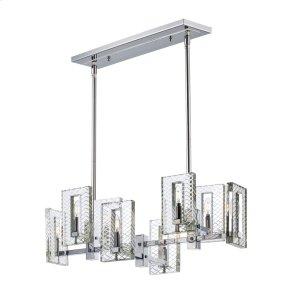 Suave 8-Light Linear Chandelier