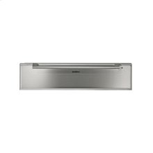 """200 series warming drawer WS 261 710 Stainless steel-backed glass front 24"""" (60 cm), height 5 1/2"""""""