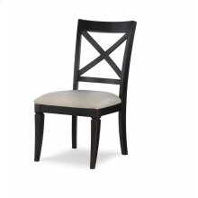 X Back Side Chair - Peppercorn