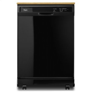 WhirlpoolPortable Dishwasher With The 1-Hour Wash Cycle