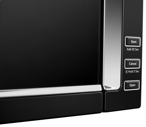 1000-Watt Low Profile Microwave Hood Combination with PrintShield Finish - Black