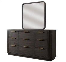 Precision Nine Drawer Dresser Umber finish