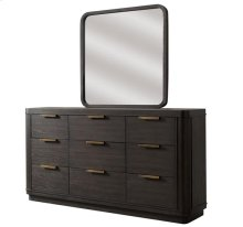 Precision Nine Drawer Dresser Umber finish