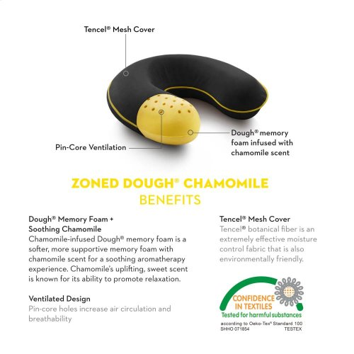 Travel Neck Zoned Dough Chamomile - Travel Neck