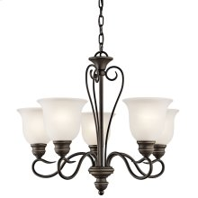 Tanglewood 5 Light Chandelier with LED Bulbs Olde Bronze®