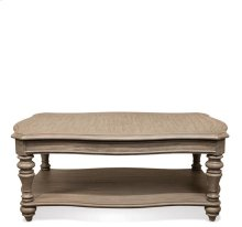 Corinne Coffee Table Sun-drenched Acacia finish