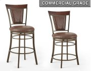 """Cecile Swivel Bar Chair 23""""x20.5""""x45.5"""" Product Image"""