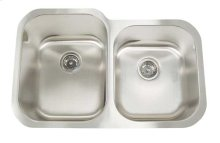 Stainless Steel Undermount Double Bowl Sink