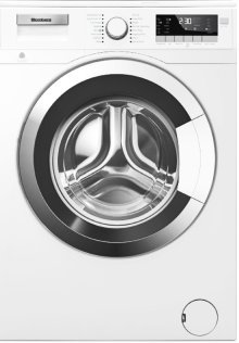 "24"" 2.5 cu ft Front Load Washer Chrome Door for Heat Pump Dryer"