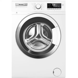 "Blomberg Appliances24"" 2.5 cu ft Front Load Washer Chrome Door for Heat Pump Dryer"