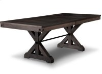 Rafters 42x72+2-12 Trestle Table Product Image