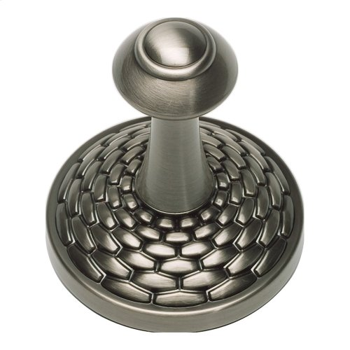 Mandalay Bath Hook - Brushed Nickel