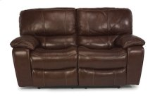 Grandview Leather Power Reclining Love Seat