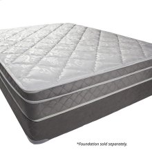 "Queen-Size Kalina 9"" Euro Pillow Top Mattress (non-flip)"