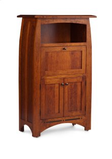 Aspen Laptop Cabinet with Inlay