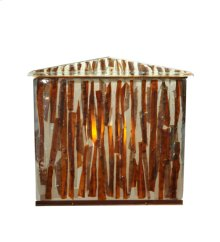 "34""W X 29""H Marina Fused Glass Vanity Cabinet"