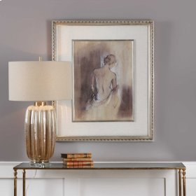 Contemporary Draped Figure Framed Pr