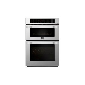 LgLG STUDIO 1.7/4.7 cu. ft. Smart wi-fi Enabled Combination Double Wall Oven