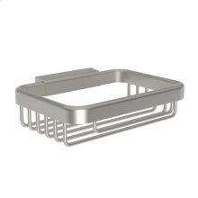 Satin Nickel Soap Basket