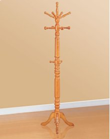 Oak Coat Rack with Rotating Arms   4059   (58269)