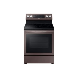 Samsung Appliances5.9 cu. ft. Freestanding Electric Range with True Convection in Tuscan Stainless Steel
