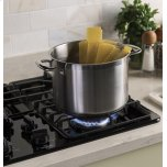 """Ge(r) 36"""" Built-In Gas Cooktop With Dishwasher-Safe Grates"""