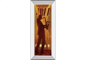 Hot Jazz By Conrad Knutsen (mirrored Frame)