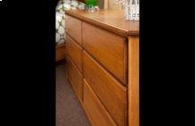 Contemporary 6 Drawer Dresser