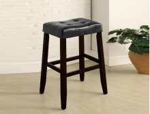Kent Saddle Bar Stool Black