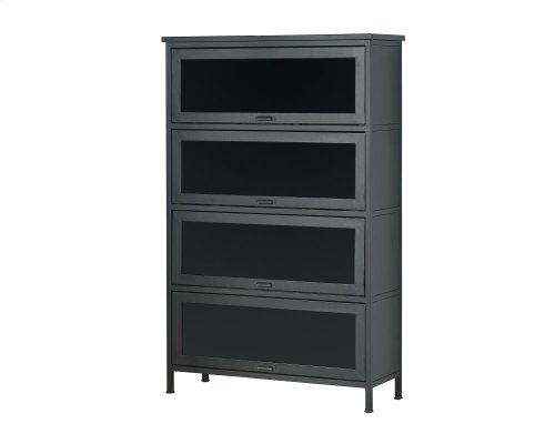 Carbon Barrister Bookcase