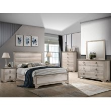 Crown Mark B3050 Patterson Panel King Bedroom