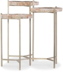 Melange Trilogy Three Top Lamp Table