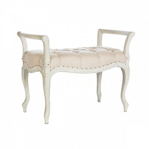 Laurie Parker Gray Short Bench