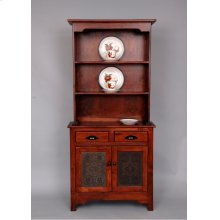 """#213 Punch Tin Cupboard 32.5""""wx22.5""""dx70""""h"""