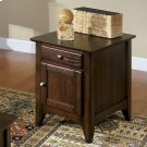 Metro II - Doored Side Chest - Ebony Brown Finish Product Image
