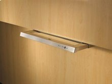 """36"""" Stainless Steel Built-In Range Hood with External Blower Options"""