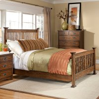Bedroom - Oak Park King Size Bed Product Image