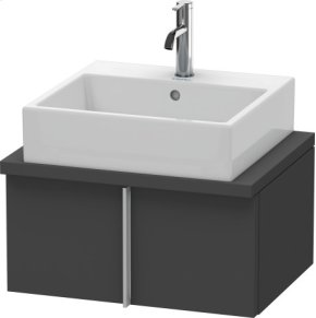 Vero Vanity Unit For Console Compact, Graphite Matt (decor)