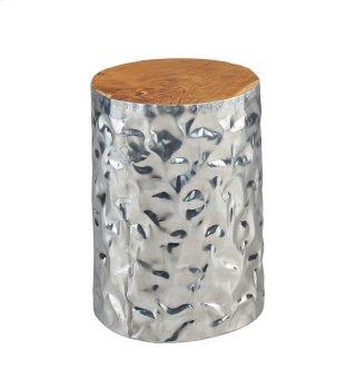 Chromium Side Table