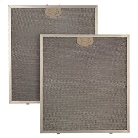 "Aluminum Replacement Grease Filter with Antimicrobial Protection for 36"" QP1 Series"