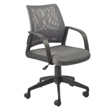 Gray Mesh Back Office Chair #10066GR