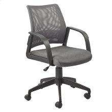 Gray Mesh Back Office Chair #10066GR